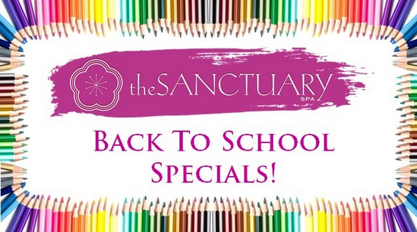 Sanctuary Spa Back To School Specials