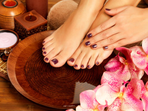 Sanctuary Spa nail care