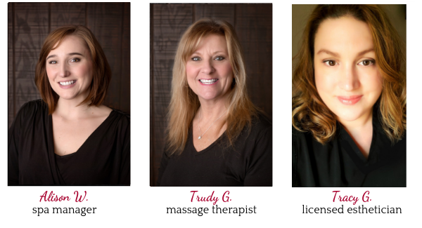 image of sanctuary spa staff